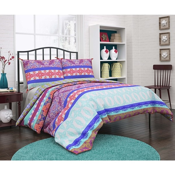 Vue Ludivine Multi-piece Reversible Cotton Duvet Set