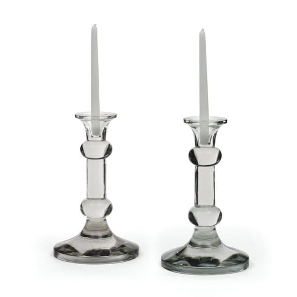 Pair of Barbell Candlesticks