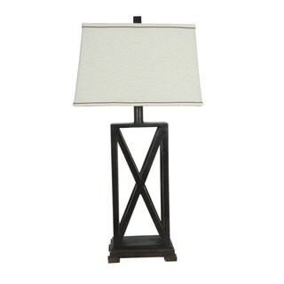 Everson Rich Bronze 32.5-inch Table Lamp