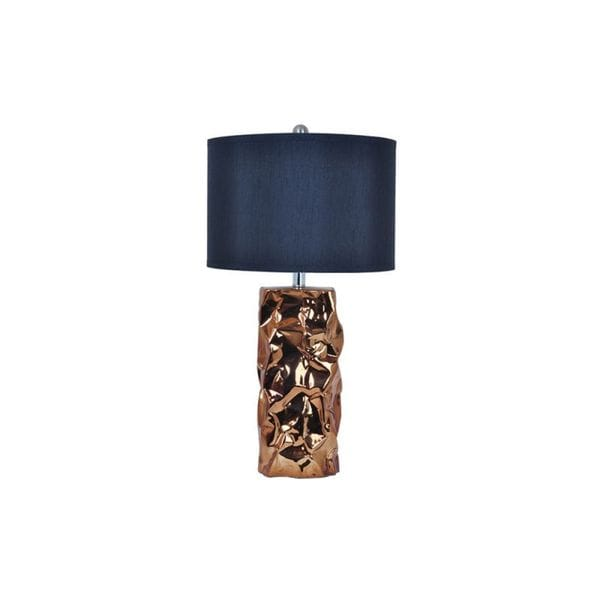 Hudson Umber and Black 28-inch Table Lamp