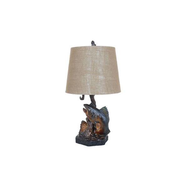 Massey Grey Stone 34-inch Table Lamp