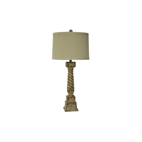 Crestview Collection 35-inch Antique Paint Table Lamp