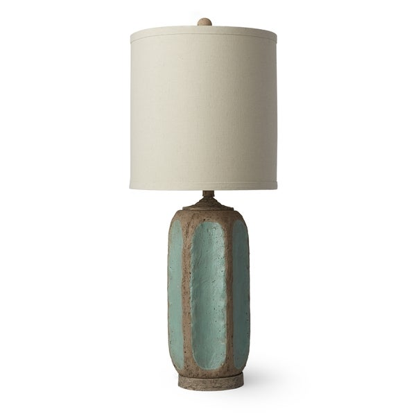 Duncan Antique Green 26-inch Table Lamp