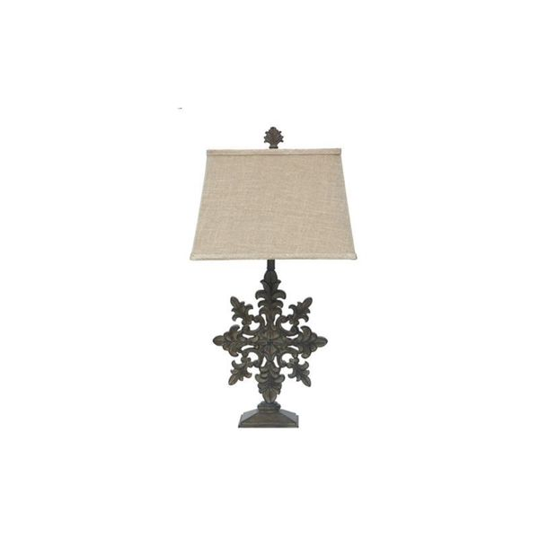 Whitmore Distressed Wood 33 5 Inch Table Lamp Free Shipping Today