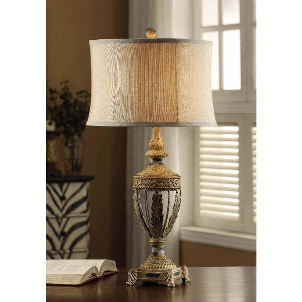 Classics Tuscan Cream 32-inch Table Lamp