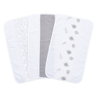 Trend Lab Safari Gray Jumbo Burp Cloth Set (Pack of 3)