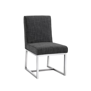 Sunpan MILLER DINING CHAIR - QUARRY FABRIC (Set of 2)
