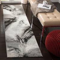 Safavieh Glacier Contemporary Abstract Grey/ Multi Area Rug - 8' x 10'