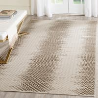 Safavieh Hand-Woven Cotton Kilim Brown/ Ivory Cotton Rug - 8' x 10'