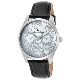 Lucien Piccard Women's Lovemaze Watch with Mother-of-Pearl Dial and Floral Design