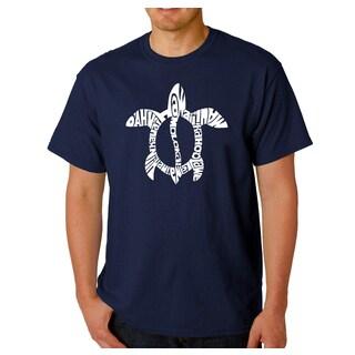 Men's Los Angeles Pop Art Honu Turtle T-Shirt