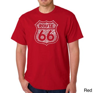 Men's Los Angeles Pop Art Kicks on Route 66 T-Shirt