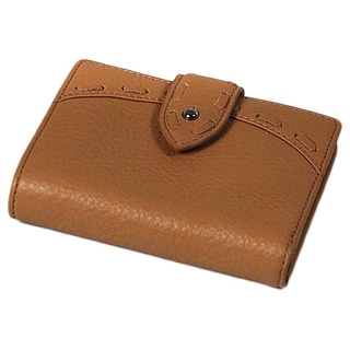 Charriol Escapade VII Beige Leather Billfold Wallet