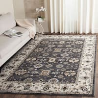 Safavieh Lyndhurst Traditional Oriental Grey/ Cream Rug - 8' x 10'