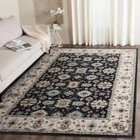 Safavieh Lyndhurst Traditional Oriental Navy/ Cream Rug - 8' x 10'