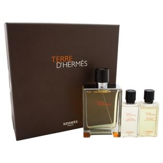Hermes Terre D'Hermes Men's 3-piece Gift Set
