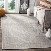 Safavieh Classic Vintage Beige Cotton Distressed Rug - 8' x 10'