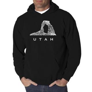 LA Pop Art Men's Utah Hooded Sweatshirt