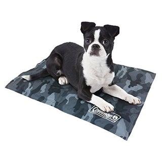 Coleman Small Comfort Cooling Gel 12 x 16-inch Pet Pad (Option: Grey Camo)