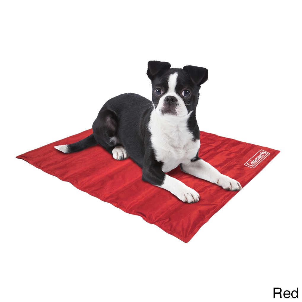 Coleman Small Comfort Cooling Gel 12 x 16-inch Pet Pad (Red)