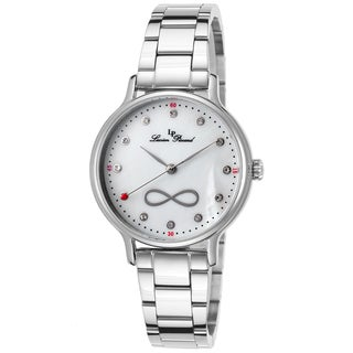 Lucien Piccard Eterno Stainless Steel White Mother of Pearl Dial Watch