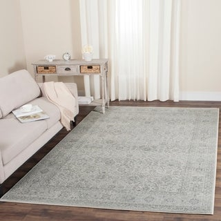 Safavieh Carnegie Light Grey/ Grey Rug (8' x 10')