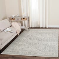 Safavieh Carnegie Vintage Cream/ Dark Grey Distressed Rug - 8' x 10'