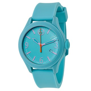 ESQ by Movado Women's Blue Rubber and Stainless Steel Swiss Quartz Watch