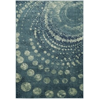 Safavieh Constellation Vintage Turquoise/ Multi Viscose Rug (8' x 11' 2)