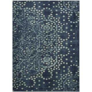 Safavieh Constellation Vintage Blue/ Multi Viscose Rug (8' x 11' 2)