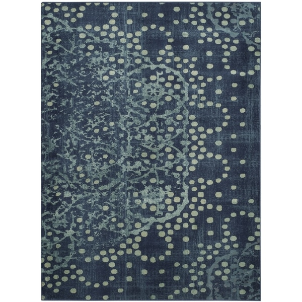 Safavieh Constellation Vintage Blue/ Multi Viscose Rug - 8' x 11'2
