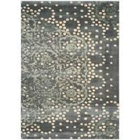 Safavieh Constellation Vintage Grey/ Multi Viscose Rug - 8'10 x 12'2