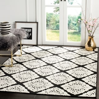 Safavieh Cottage Anthracite/ Cream Rug (9' x 12')