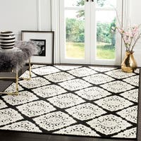 Safavieh Cottage Anthracite/ Cream Rug - 9' x 12'