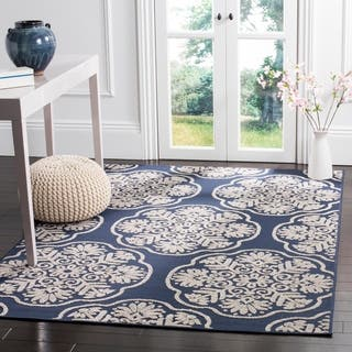 Safavieh Cottage Navy/ Cream Rug (9' x 12')|https://ak1.ostkcdn.com/images/products/11742917/P18659966.jpg?impolicy=medium