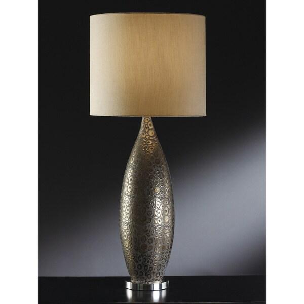 Leopold Bronze Metal 33-inch Table Lamp