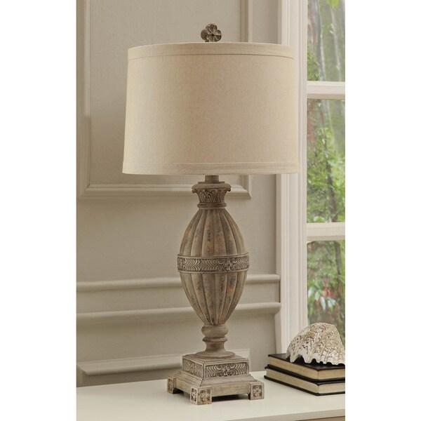 Mccoy Sand Wood 33-inch Table Lamp
