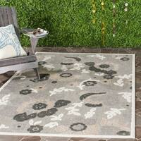 Safavieh Cottage Grey/ Dark Grey Rug - 8' x 11'2