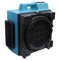 XPOWER X-3580 Commercial 4 Stage Filtration HEPA Purifier System Air Scrubber - Blue