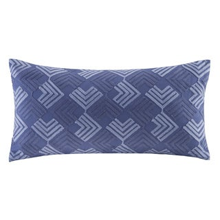 N Natori Yumi Botanical Cotton Oblong Pillow