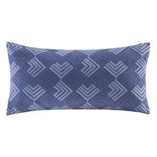N Natori Yumi Botanical Cotton Oblong Pillow