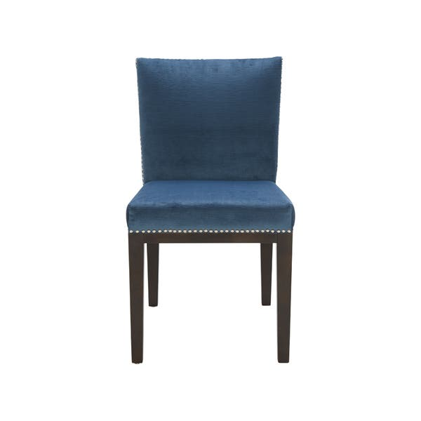 Stupendous Shop Sunpan Vintage Dining Chair Ink Blue Set Of 2 On Alphanode Cool Chair Designs And Ideas Alphanodeonline