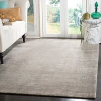 Safavieh Handmade Mirage Modern Grey Wool/ Viscose Rug - 10' x 14'