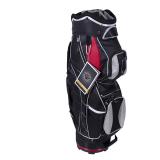 Courier Sport Cart Bag - Black/Red