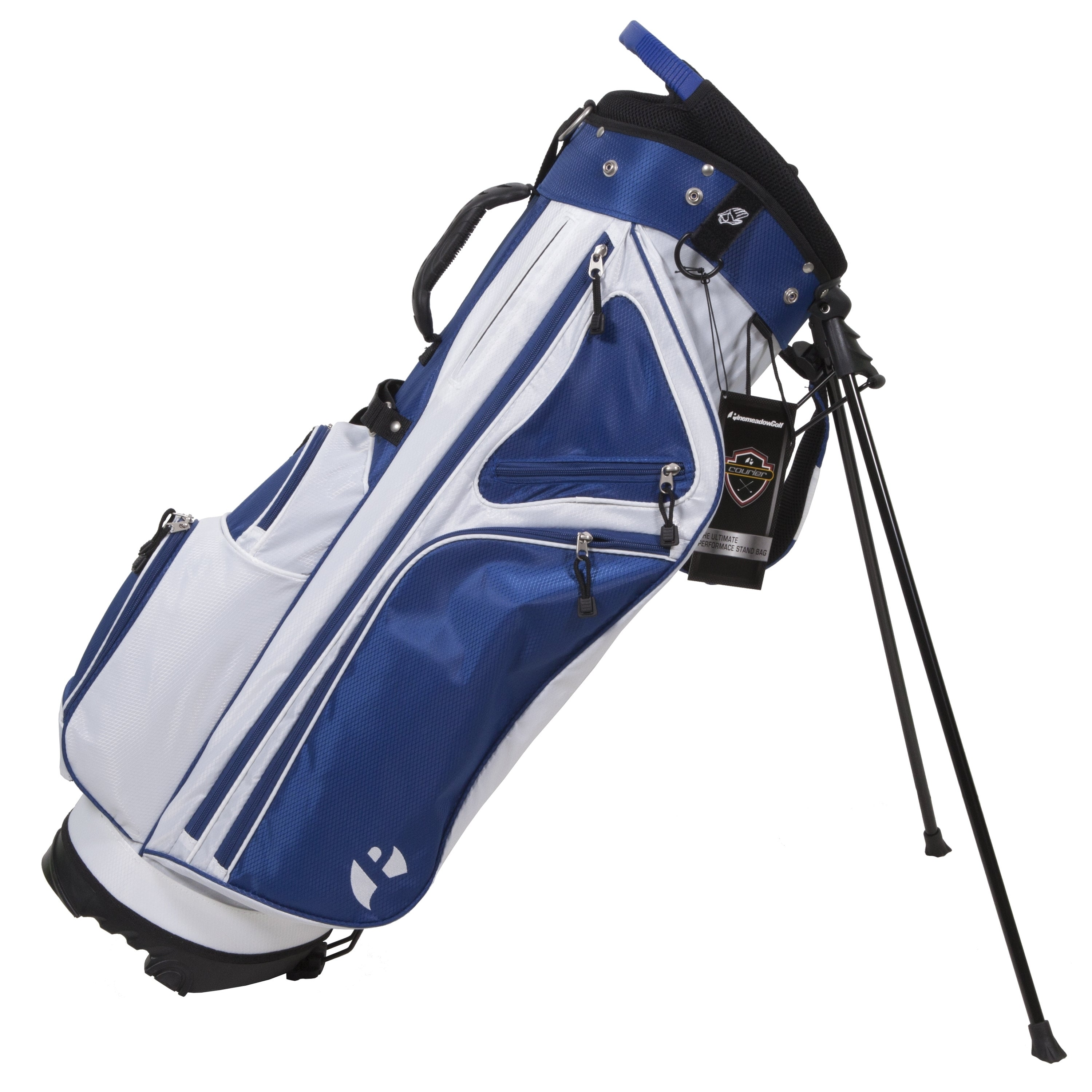 Pinemeadow Courier 3.0 Stand Bag (Blue/White)