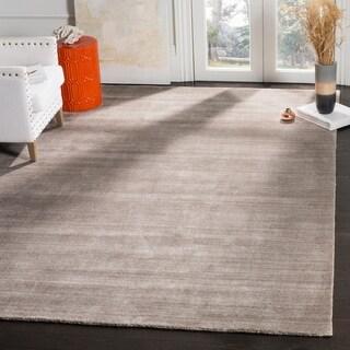 Safavieh Handmade Mirage Modern Ash Wool/ Viscose Rug (8' x 10')