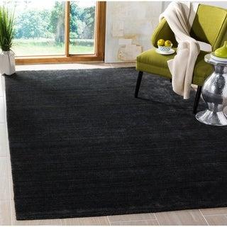 Safavieh Handmade Mirage Modern Anthracite Wool Rug (9' x 12')
