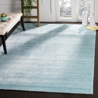 Safavieh Handmade Mirage Modern Sky Wool Rug (9' x 12')