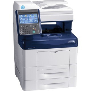 Xerox WorkCentre 6655I/XM Laser Multifunction Printer - Color - Plain