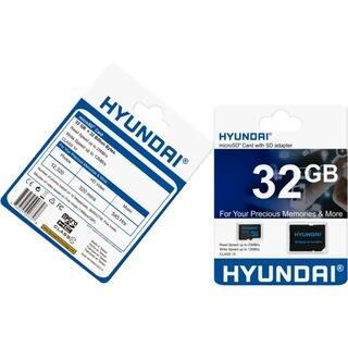Hyundai 32 GB Class 10/UHS-I (U1) microSDHC
